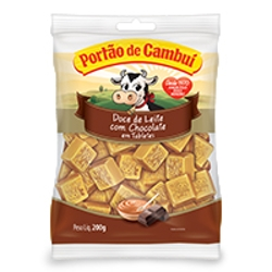 Doce Cambui 200g Leite/Chocolate