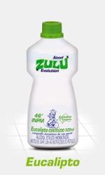 ALCOOL ZULU 46º 500ML EUCALIPTO EVOL