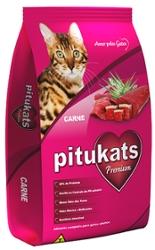 Alimento para Gatos 500g Pitukats Carne