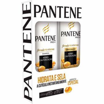 Kit Pantene Shampoo 175ml Condicionador 175ml Hidro Cauterização