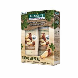 KIT SH+CO PALMOLIVE 325ML NATUREZA SECRETA CASTANHA