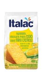 Mist Bolo Italac 400g Milho Cremoso
