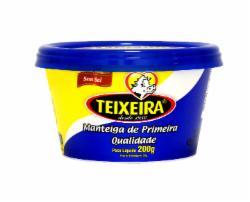 MANTEIGA TEIXEIRA 200G POTE S/SAL