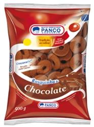 Biscoito Panco Rosquinha 500g Chocolate