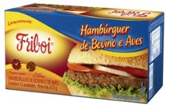 Hambúrguer Misto Friboi 672g