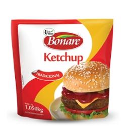 Ketchup Bonare 1,050kg Tradicional