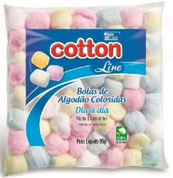 Algodao Cotton Line 95g Bolas Coloridas