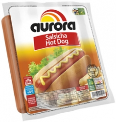 Salsicha Aurora 500g Hot Dog
