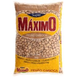Feijão Carioca Maximo 1kg
