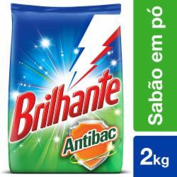 Lava Roupas Pó Brilhante 2kg Antibac
