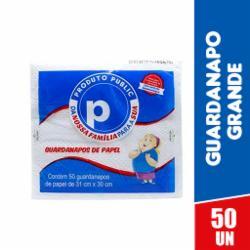 Guardanapo Public Grande 31x30 com 50