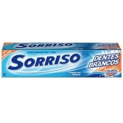 Creme Dental Sorriso 90g Dentes Brancos