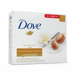 Pack Sabonete Dove 90g Karité e Baunilha Leve 12 Pague 10