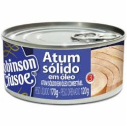 ATUM ROBINSON CRUSOE SOLIDO 170G OLEO