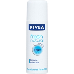 Desodorante Spray Nivea 90ml Fem Fresh Natural