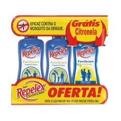 REPELENTE REPELEX LOCAO 100ML C/2 GTS CITRONELA