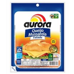 Queijo Mussarela Aurora 150g Fatiada