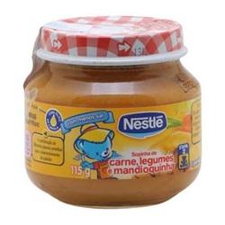 Sopinha Nestle 115g Carne/Leg/Mandioca