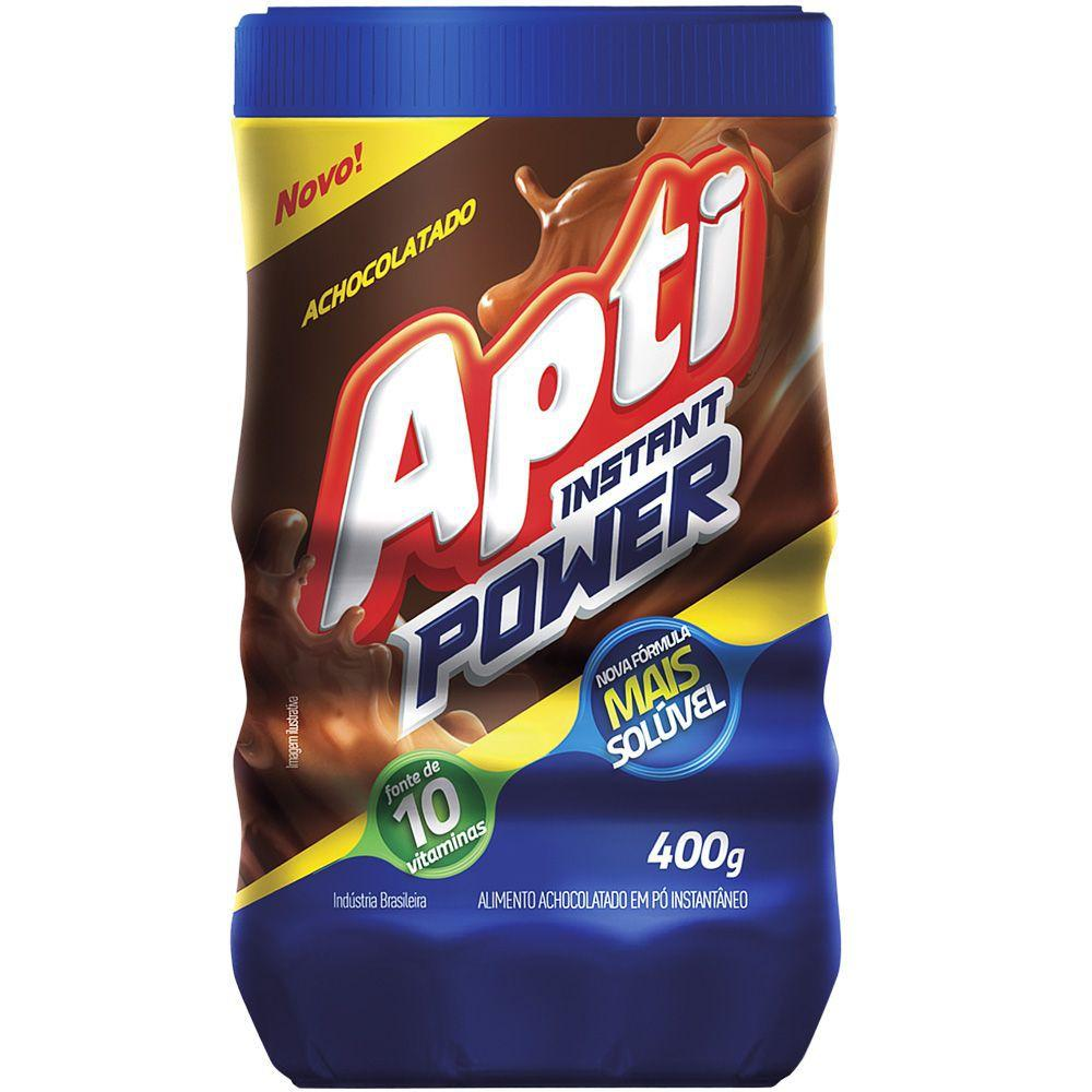 Achocolatado Po Apti Power 400g Pote