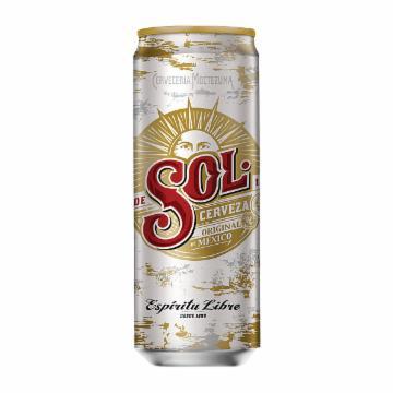 Cerveja Sol Premium 310ml Lata