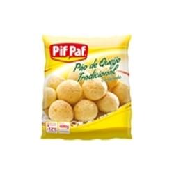 Pão de Queijo Pif Paf 400g Reducao Sodio