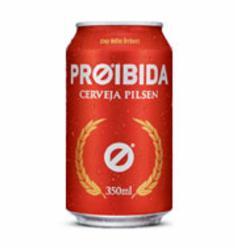 Cerveja Proibida 350ml Lata