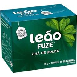 Cha Leao Boldo 15g com  15 Saq Envelopados