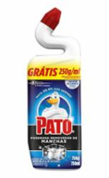 Desinfetante Pato 750ml Power Destaque das Manchas Grátis 250ml