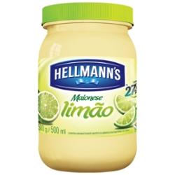 Maionese Hellmanns 500g Limão