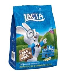 Mini Ovo Lacta 104g Ao Leite N.4