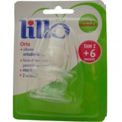 Bico de Mamadeira Lillo Silicone N2
