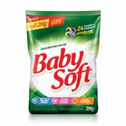 Lava Roupas Pó Baby Soft 2Kg