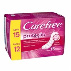 Protetor Diario Carefree Protecao Diaria Lv15 Pg12