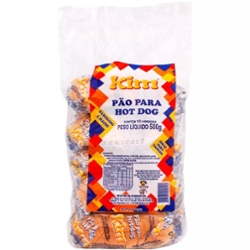 Pão Hot Dog Kim 500g com 10