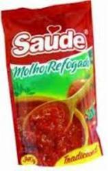 Molho Tomate Saude 340g Pronto Sachet