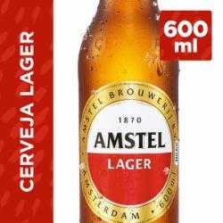 Cerveja Amstel 600ml Garrafa