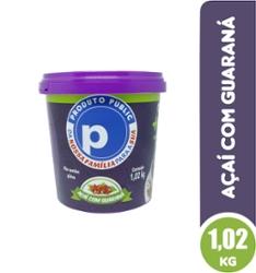 Açaí Public 1,02kg Guaraná