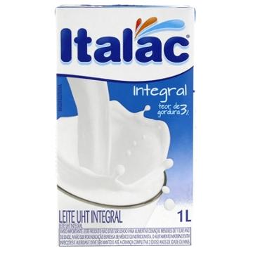 Leite Longa Vida 1L Integral Italac