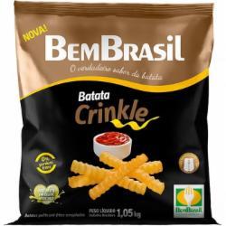 BATATA BEM BRASIL 1.050 KG CRINKLE