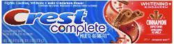 Creme Dental Crest Complete 170g Cinnamon Rush