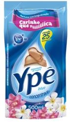 Amaciante Concentrado Ype 500ml Blue Pouch