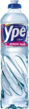 Detergente Liquido Ype 500ml Clear