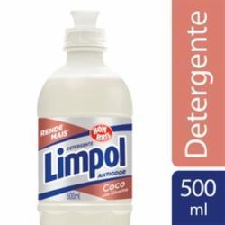 Detergente Líquido Limpol 500ml Coco
