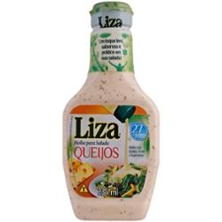 Molho Salada Liza 234ml Queijos