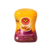 Cappuccino 3 Coracoes 200g Baunilha Pote