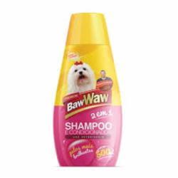 SHAMPOO E COND   BAW WAW  P/ CAES 500ML