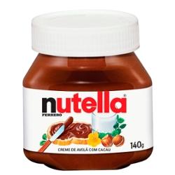 Creme de Avela com Cacau Nutella 140g