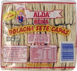 Biscoito Alda Reina 400g Sete Capas