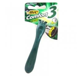 Ap Barb Bic Comfort3 Pele Sensivel com 2