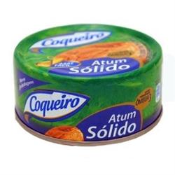 Atum Coqueiro 170g Solido